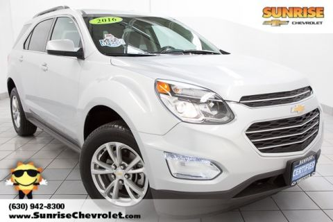 Certified Pre-Owned 2016 Chevrolet Equinox LT FWD 4D Sport Utility