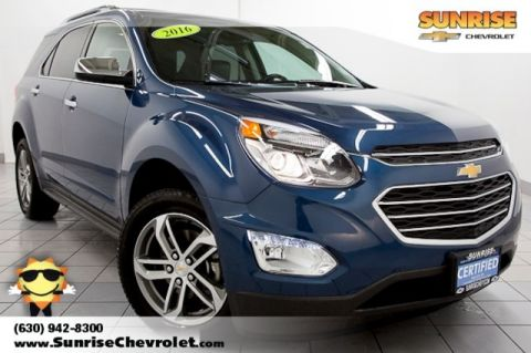 Certified Pre-Owned 2016 Chevrolet Equinox LTZ FWD 4D Sport Utility