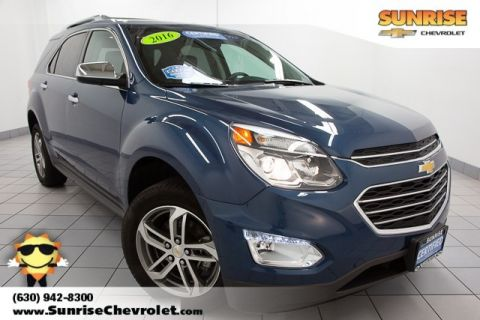 Certified Pre-Owned 2016 Chevrolet Equinox LTZ AWD