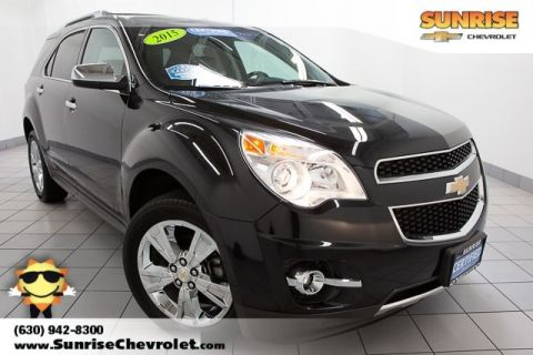Certified Pre-Owned 2015 Chevrolet Equinox LTZ AWD