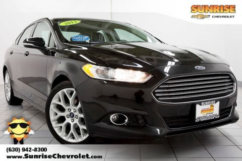 Pre-Owned 2013 Ford Fusion Titanium AWD