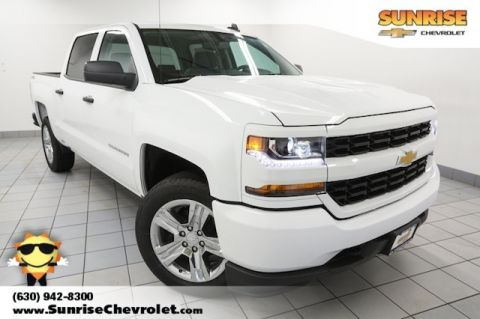 New 2018 Chevrolet Silverado 1500 Custom 4WD