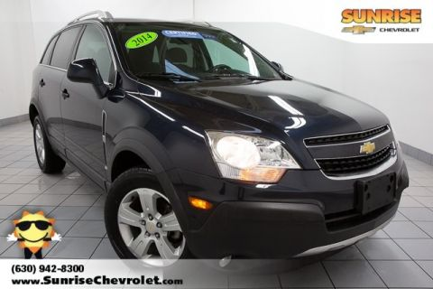 Certified Pre-Owned 2014 Chevrolet Captiva Sport 2LS FWD 4D Sport Utility