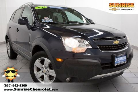 Pre-Owned 2014 Chevrolet Captiva Sport 2LS FWD 4D Sport Utility