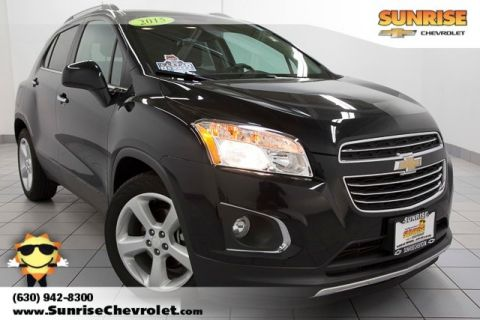 Certified Pre-Owned 2015 Chevrolet Trax LTZ FWD 4D Sport Utility