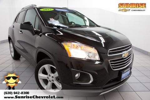 Certified Pre-Owned 2015 Chevrolet Trax LTZ AWD