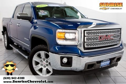 Certified Pre-Owned 2015 GMC Sierra 1500 SLT 4WD