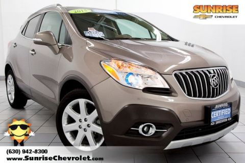 Certified Pre-Owned 2015 Buick Encore Premium FWD 4D Sport Utility
