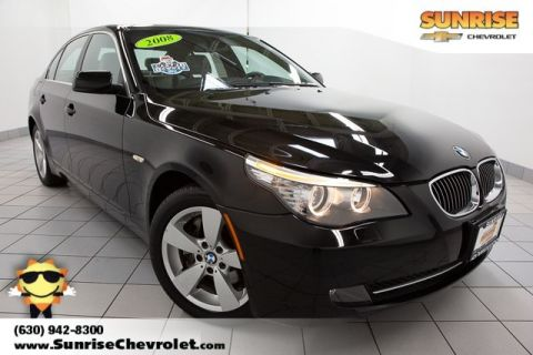 Pre-Owned 2008 BMW 5 Series 528xi AWD