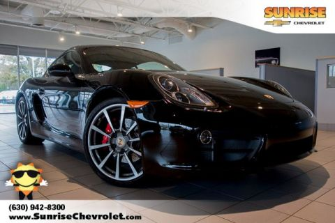 Pre-Owned 2014 Porsche Cayman S RWD 2D Coupe