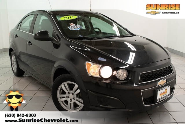 Certified Pre-Owned 2015 Chevrolet Sonic LT