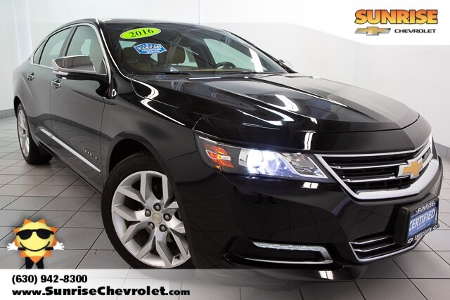 Certified Pre-Owned 2016 Chevrolet Impala LTZ