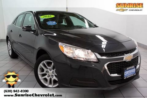 Certified Pre-Owned 2016 Chevrolet Malibu Limited LT FWD 4D Sedan