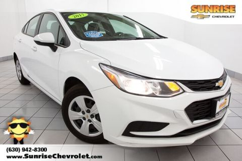 Certified Pre-Owned 2017 Chevrolet Cruze LS FWD 4D Sedan