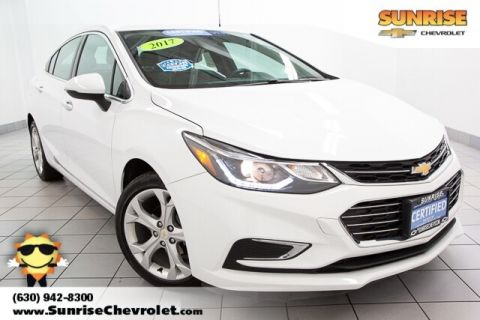 Certified Pre-Owned 2017 Chevrolet Cruze Premier FWD 4D Sedan
