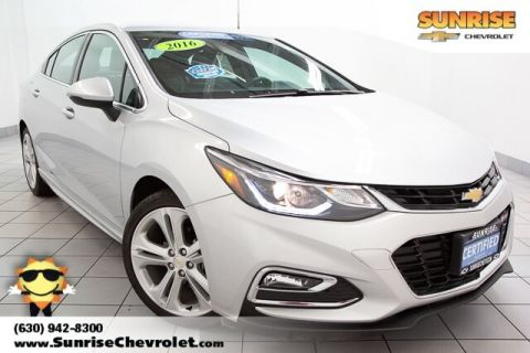 Certified Pre-Owned 2016 Chevrolet Cruze Premier FWD 4D Sedan