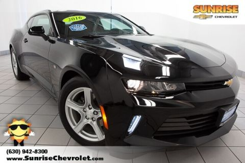 Certified Pre-Owned 2016 Chevrolet Camaro 1LT RWD 2D Coupe