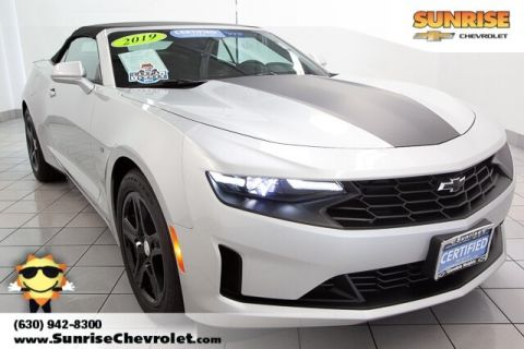 Certified Pre-Owned 2019 Chevrolet Camaro 1LT RWD 2D Convertible