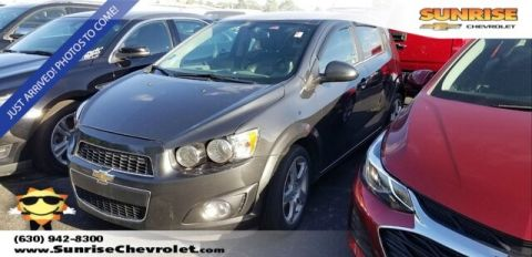 Certified Pre-Owned 2014 Chevrolet Sonic LTZ