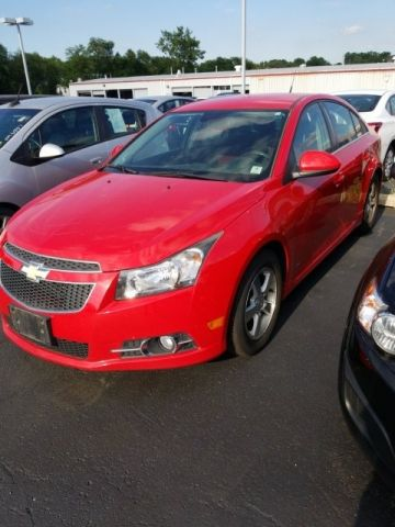 Pre-Owned 2013 Chevrolet Cruze 1LT FWD 4D Sedan