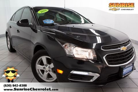 Certified Pre-Owned 2016 Chevrolet Cruze Limited 1LT FWD 4D Sedan