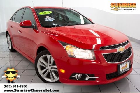 Pre-Owned 2013 Chevrolet Cruze LTZ FWD 4D Sedan