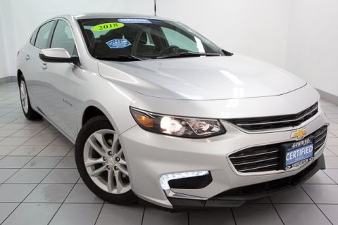 Certified Pre-Owned 2018 Chevrolet Malibu LT FWD 4D Sedan