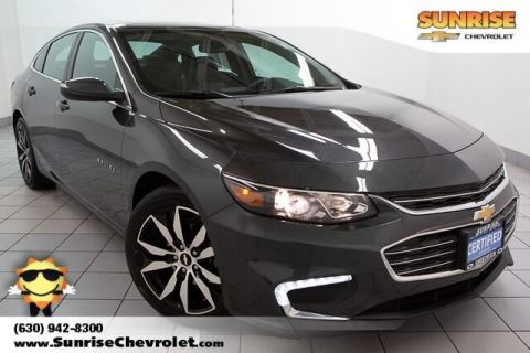 Certified Pre-Owned 2017 Chevrolet Malibu LT FWD 4D Sedan