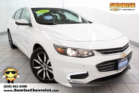 Certified Pre-Owned 2016 Chevrolet Malibu LT FWD 4D Sedan