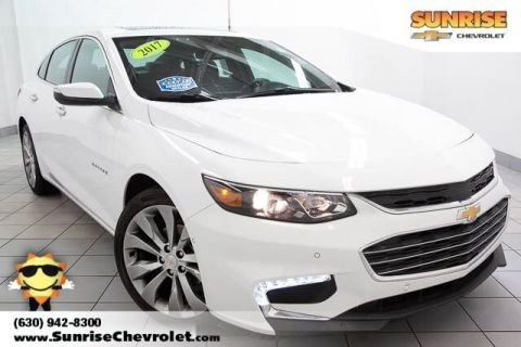 Certified Pre-Owned 2017 Chevrolet Malibu Premier With Navigation