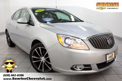 Certified Pre-Owned 2016 Buick Verano Sport Touring Group FWD 4D Sedan