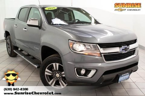 Certified Pre-Owned 2018 Chevrolet Colorado LT With Navigation & 4WD
