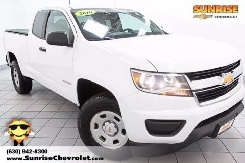 Certified Pre-Owned 2016 Chevrolet Colorado Work Truck RWD Standard Bed