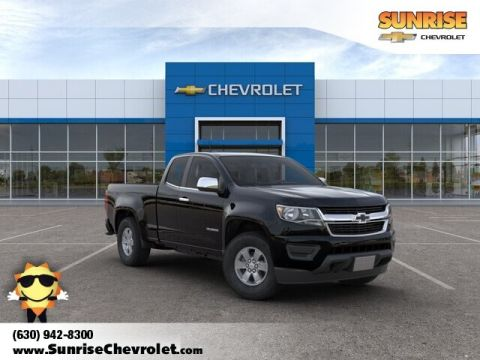 New 2019 Chevrolet Colorado Work Truck RWD 4D Extended Cab
