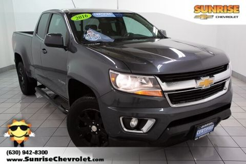 Certified Pre-Owned 2016 Chevrolet Colorado LT