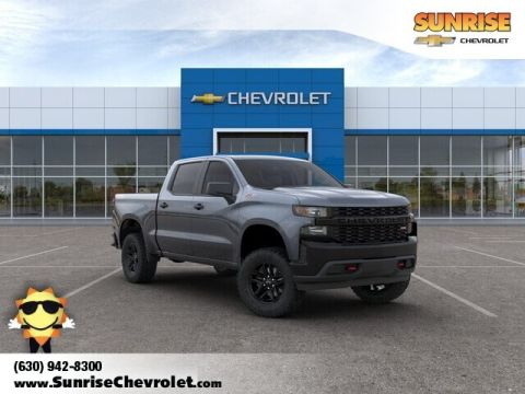 New 2020 Chevrolet Silverado 1500 Custom Trail Boss 4WD