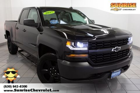 Certified Pre-Owned 2017 Chevrolet Silverado 1500 WT 4WD
