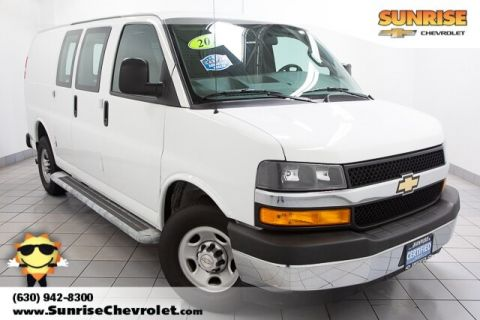 Certified Pre-Owned 2018 Chevrolet Express 2500 Work Van RWD 3D Cargo Van