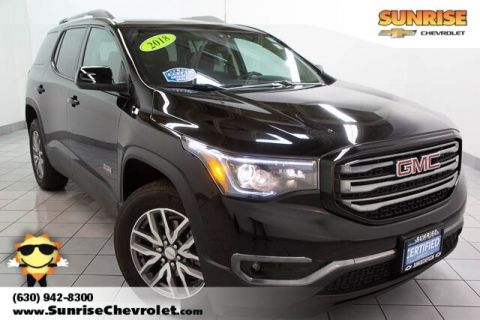 Certified Pre-Owned 2018 GMC Acadia SLE-2 AWD