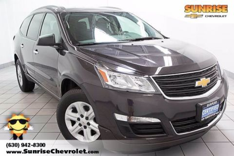 Certified Pre-Owned 2017 Chevrolet Traverse LS FWD 4D Sport Utility