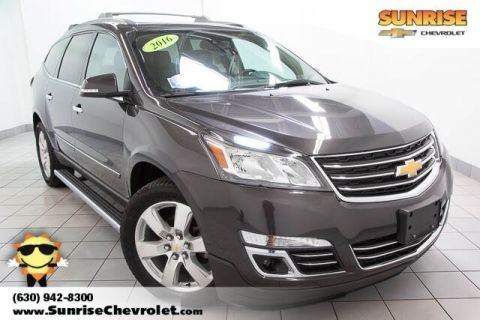 Certified Pre-Owned 2016 Chevrolet Traverse LTZ With Navigation