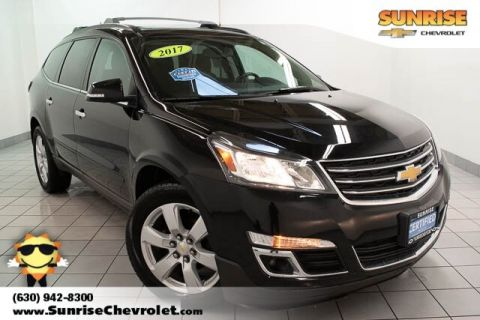 Certified Pre-Owned 2017 Chevrolet Traverse LT AWD