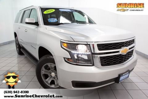 Certified Pre-Owned 2018 Chevrolet Suburban LT 4WD