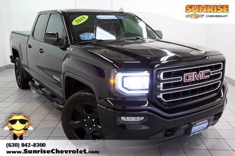 Certified Pre-Owned 2018 GMC Sierra 1500 SLE 4WD