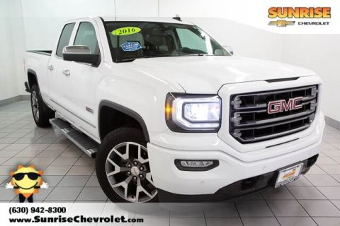 Certified Pre-Owned 2016 GMC Sierra 1500 SLT With Navigation & 4WD