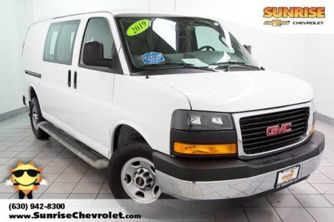 Certified Pre-Owned 2019 GMC Savana 2500 Work Van RWD 3D Cargo Van