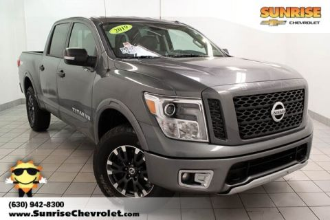 Pre-Owned 2019 Nissan Titan PRO With Navigation & 4WD