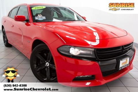 Pre-Owned 2018 Dodge Charger R/T RWD 4D Sedan