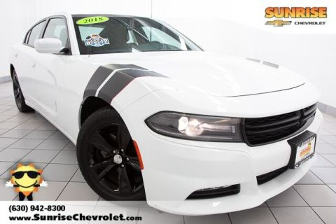 Pre-Owned 2018 Dodge Charger SXT RWD 4D Sedan
