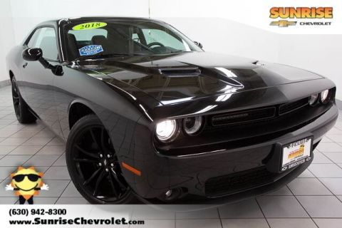 Pre-Owned 2018 Dodge Challenger SXT RWD 2D Coupe